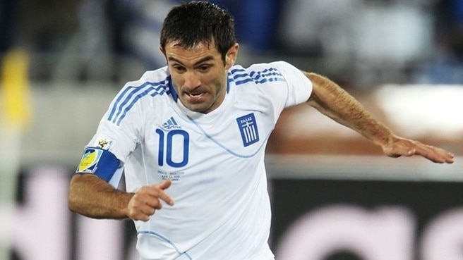 Karagounis marks Greece century in perfect fashion