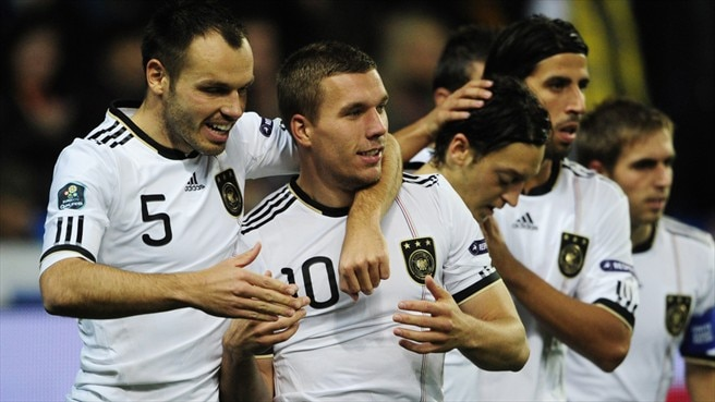 Germany maintain perfect record