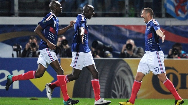 Mexès on a high as France find their rhythm
