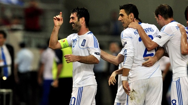 Captain Karagounis sings Greece's praises