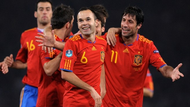 Spain lead interim UEFA national team coefficients