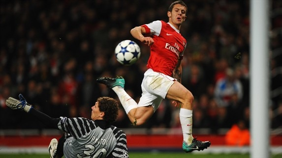 The Wilshere stumbled flick