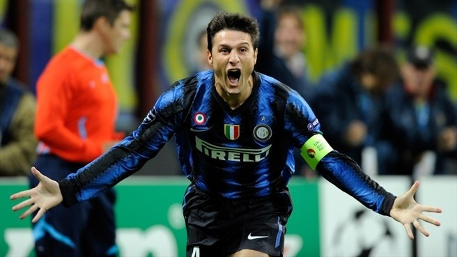 Zanetti prepares for 1,000th match