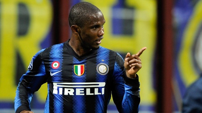 Eto'o returns to centre stage for Inter