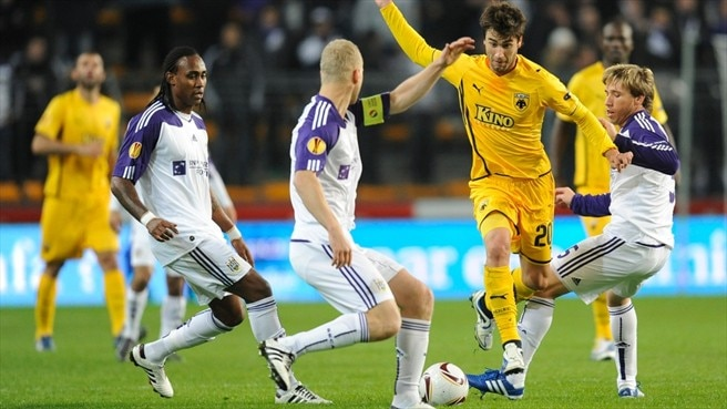 Tight situation for AEK and Anderlecht