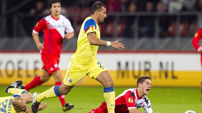 Steaua benefit from Schut's misfortune