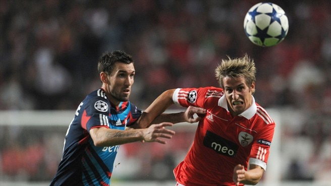 Benfica's Coentrão rejoices in scoring exploits