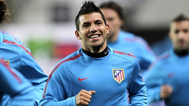 Agüero agrees Atlético contract extension