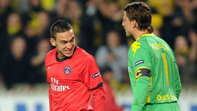 Dortmund keep out PSG