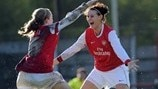 Kim Little & Julie Fleeting (Arsenal LFC)