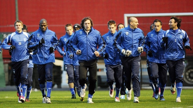 Auxerre welcome Milan with a spring in their step