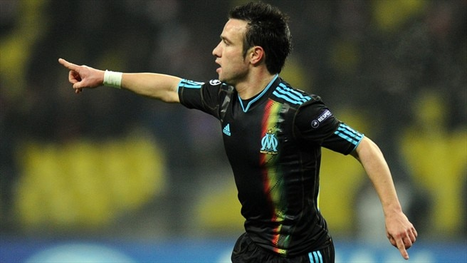 Valbuena and Marseille aglow in Moscow
