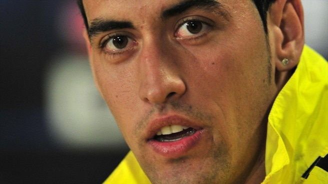 Busquets glad to lay down roots at Barcelona