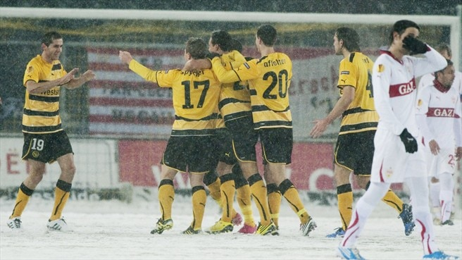 Young Boys fight back to follow Stuttgart through