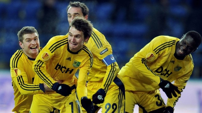 Oliynyk in the nick of time for Metalist