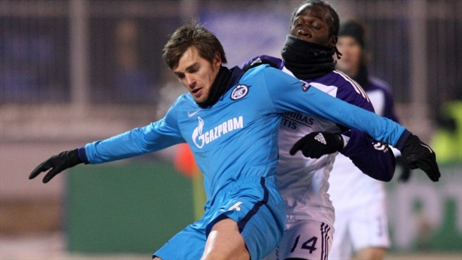 Classy Zenit stay perfect with win against Anderlecht