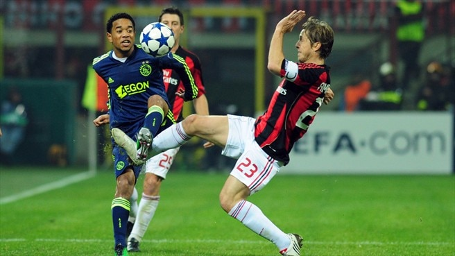 Milan midfield boosted by Emanuelson