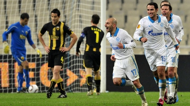 AEK - Zenit reaction