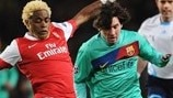 Back in 2011: Arsenal comeback sinks Barcelona