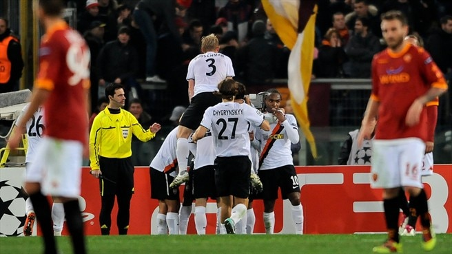 Roma - Shakhtar Donetsk reaction