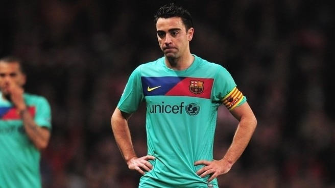 Xavi knock gives Barcelona cause for concern