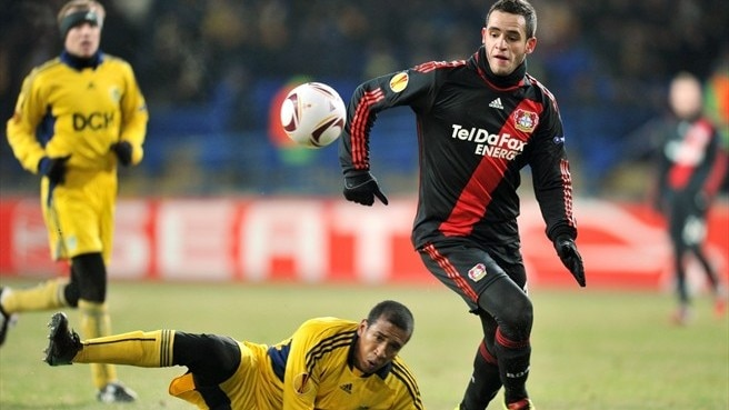 Merciless Leverkusen breeze past Metalist