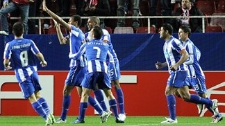 Guarín gives Porto narrow win in Seville