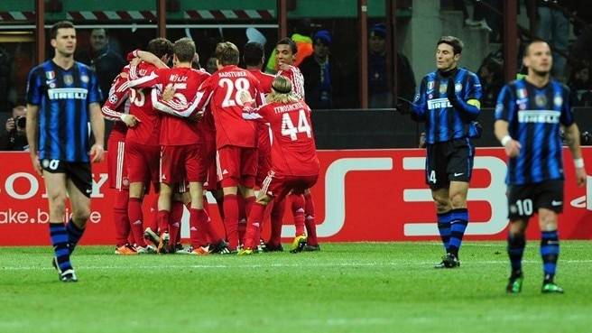 Internazionale - Bayern reaction