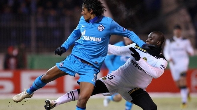 Shirokov takes Zenit past Young Boys