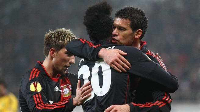 Leverkusen prove too strong for Metalist