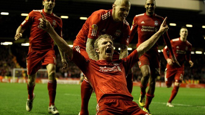 Sparta bow out as Kuyt rescues Liverpool