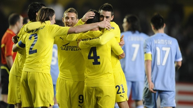 Villarreal - Napoli reaction