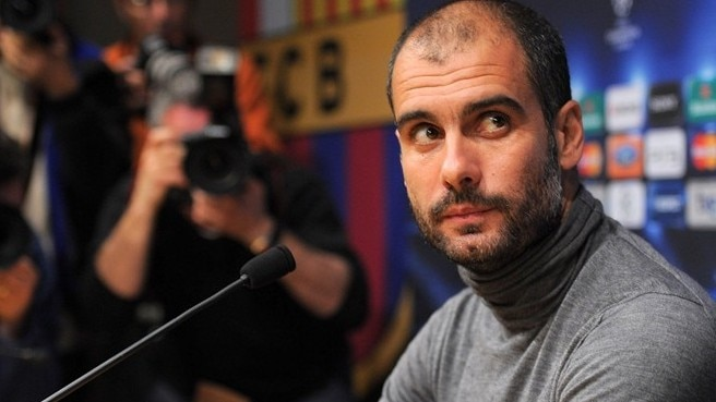Press conference: Josep Guardiola (Barcelona), Arsène Wenger & Cesc Fàbregas (Arsenal)