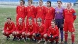 Former Yugoslav Republic of Macedonia lineup