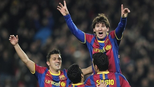 Brilliant Barcelona outgun ten-man Arsenal