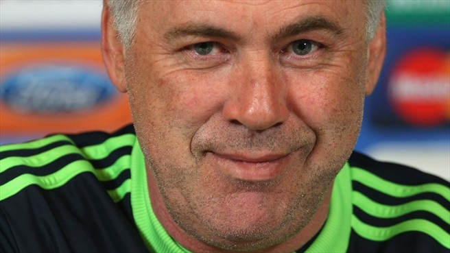Ancelotti has spring in his step for FCK visit