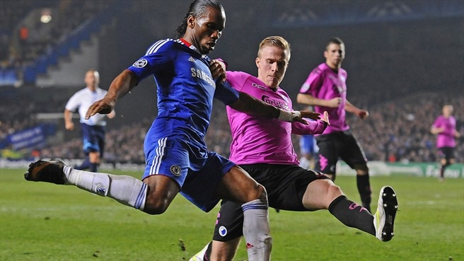 Frustration but no drama for Chelsea's Drogba