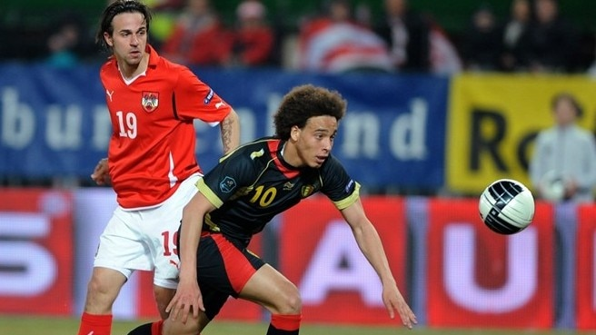 Witsel double for Belgium beats Austria
