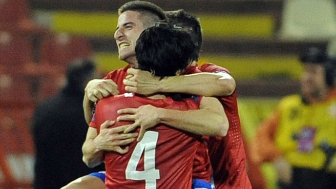 Serbia fightback flattens Northern Ireland
