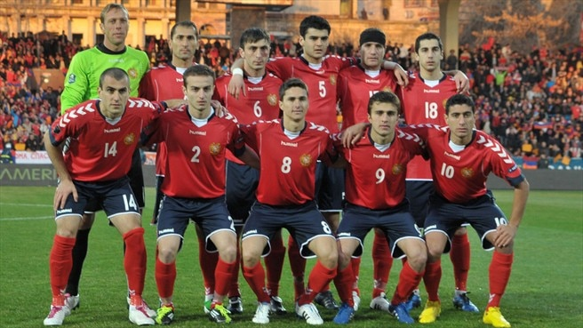 Armenia aim to close gap in Andorra