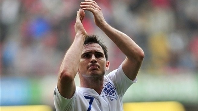 England lose Lampard for EURO
