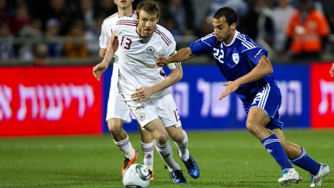 Latvia face challenge of resurgent Israel