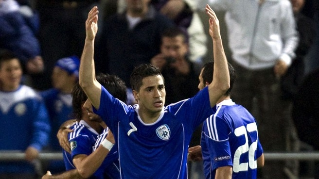 Israel indebted to Kayal against Latvia