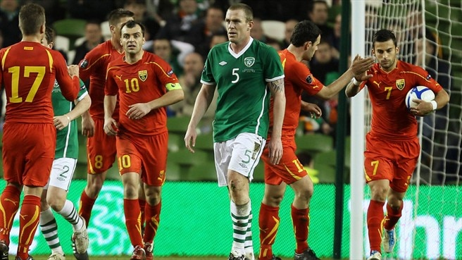 FYROM poised after brave effort in Dublin
