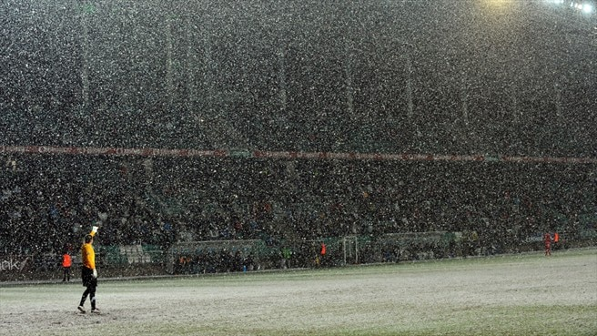 Snow (Estonia v Serbia)