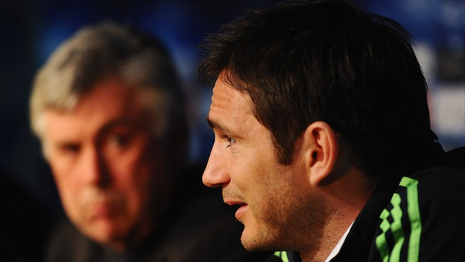 Lampard out to ease past European pain