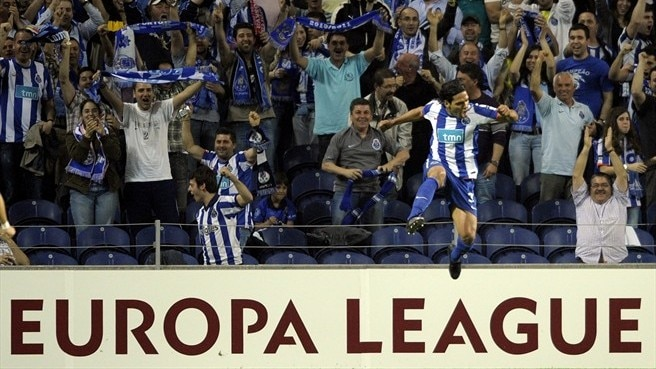 Porto - Spartak Moskva reaction