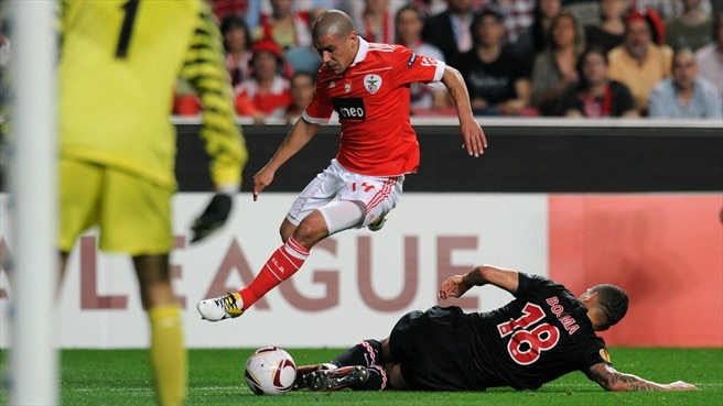 Maxi Pereira looking to take Benfica all the way