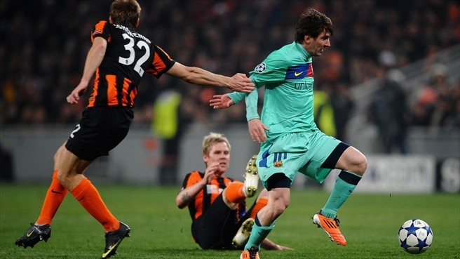 Lucescu wishes Shakhtar had Barcelona's Messi