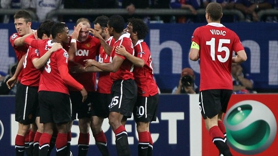 Schalke - Man. United reaction